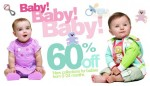 60% Baby Clothes On Sale