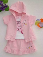 Light Pink Baby Girl Clothing
