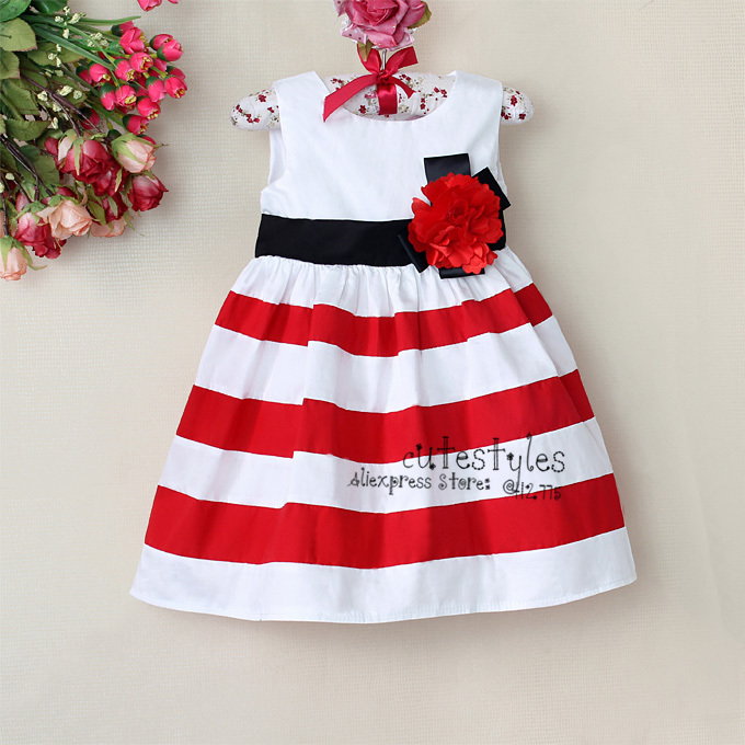 Red Baby Girls Dresses