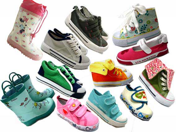 Varities Children Shoes