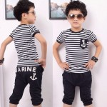 Black and White Cool Toddler Clothes