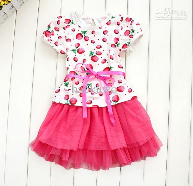 Strawberry Cute Kids Clothes