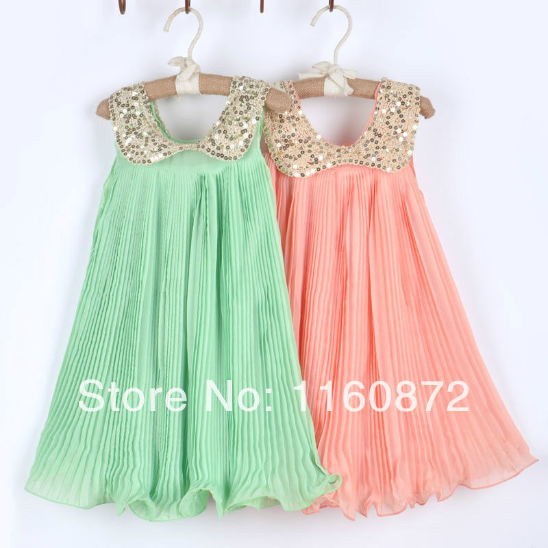 Green & Pink Cute Toddler Clothes