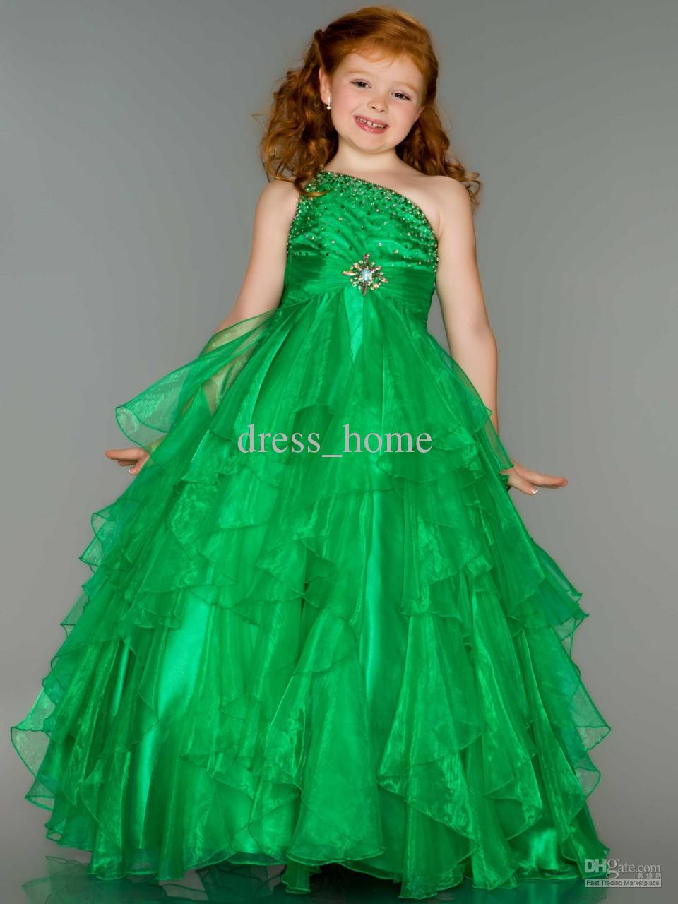 Green Dresses Kids