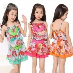 Colorful Girls Summer Clothes