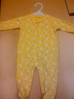 Yellow Infant Clothing