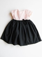 Pink black Infant Dress