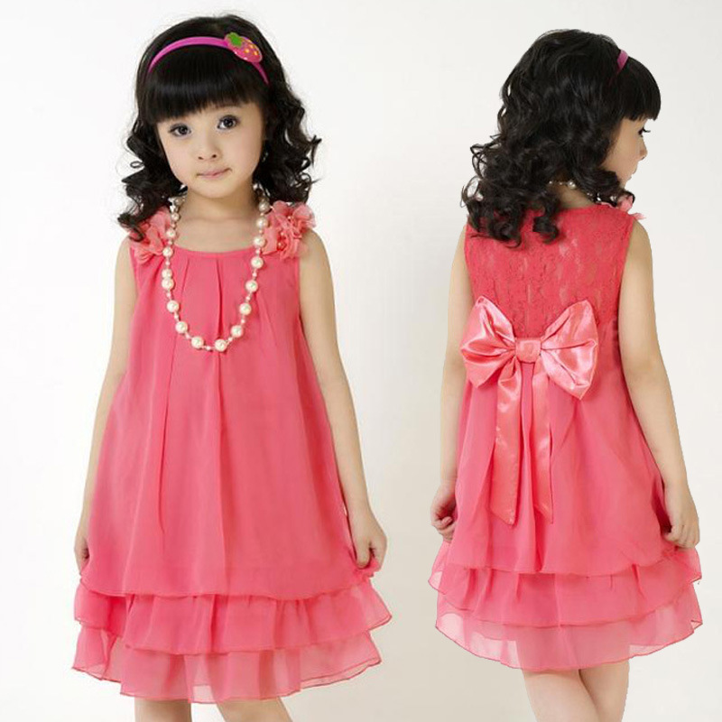Pink Kids Designer Wear