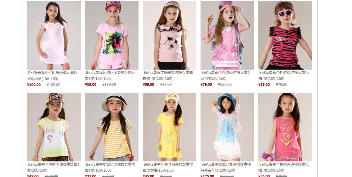 Unique Kids Online Clothes