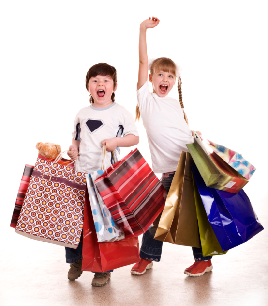 Exciting Kids Shopping