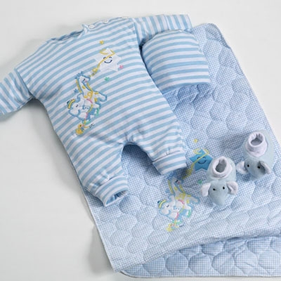 Blue Newborn Boy Clothes
