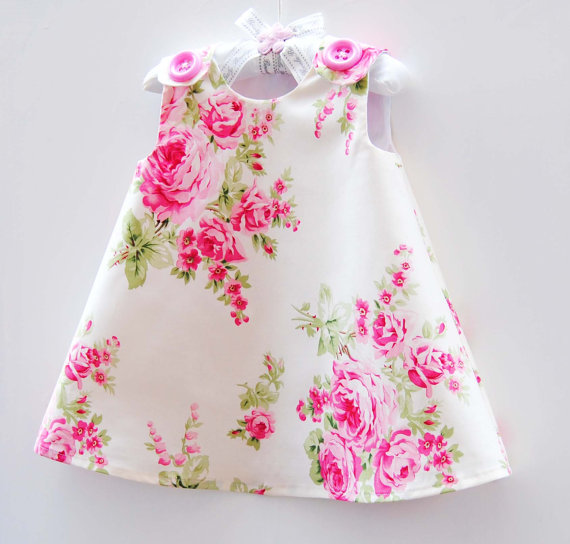 Flower Newborn Dresses