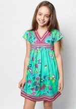 Green Summer Kids Clothes