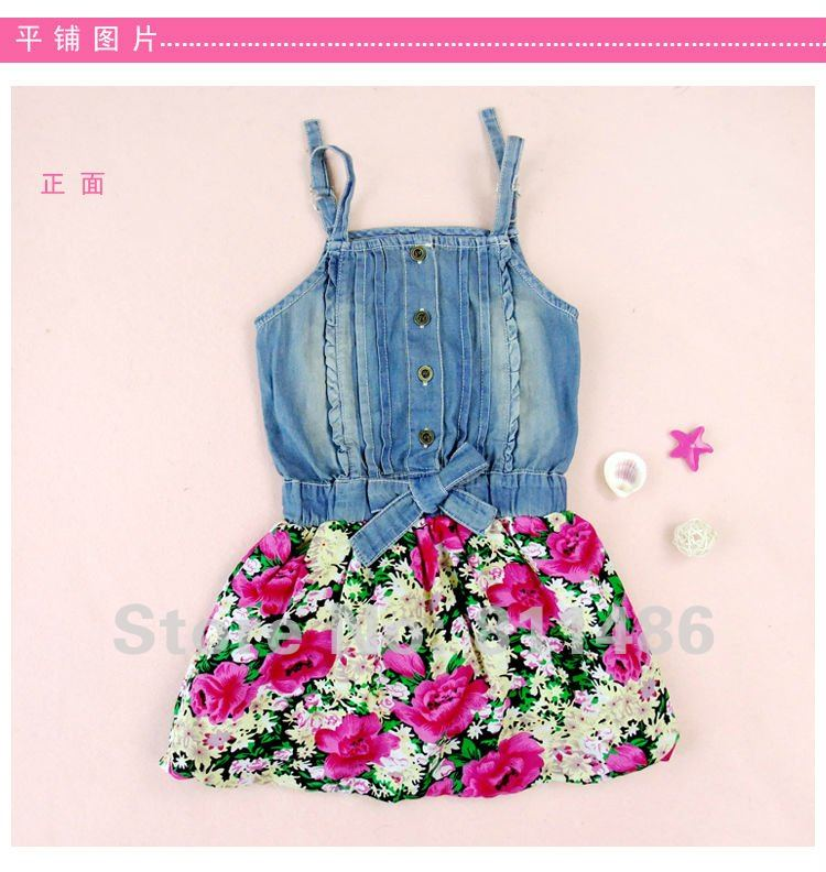 Flowery Toddler Summer Clothes