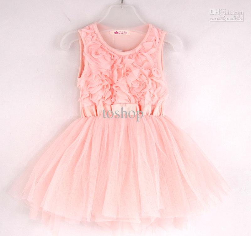 Pink Toddlers Dresses
