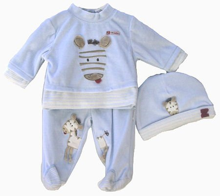 Blue Baby Boy Clothes