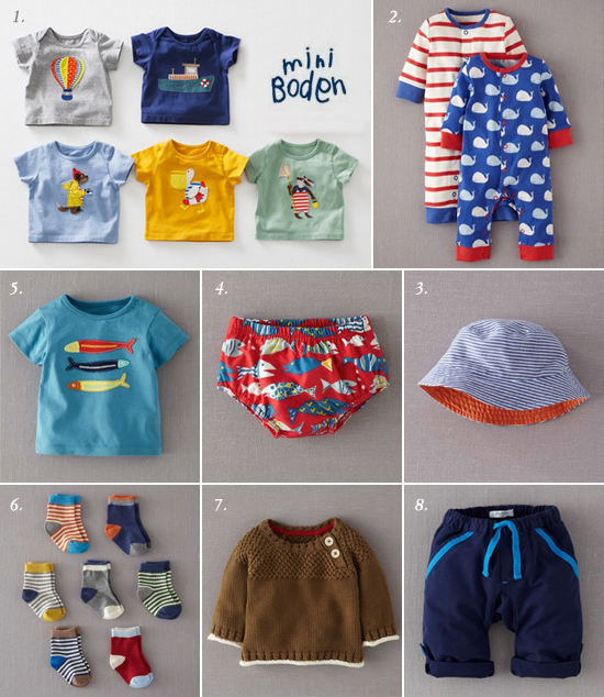 Selected Baby Clothes For Boys