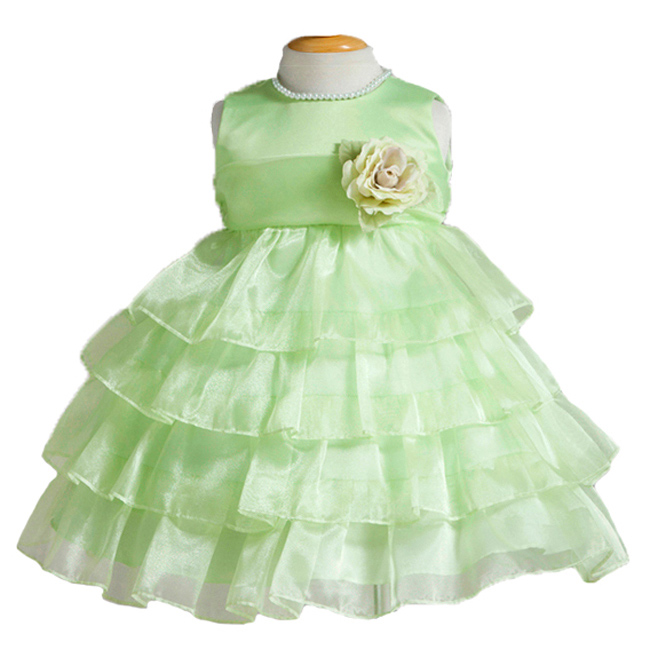 Green Baby Dresses