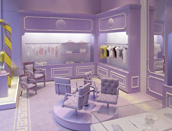 Versace Children Clothing Stores