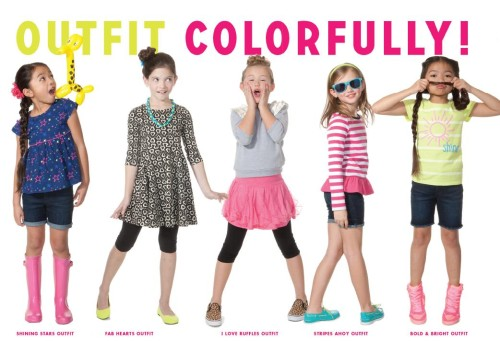 Colorful Clothes For Girls
