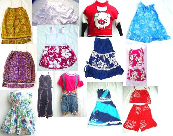 Flowered Clothes For Kids