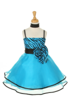 Blue Dress For Kids