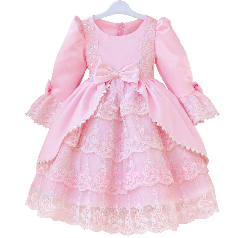 Long Sleeve Kids Dress