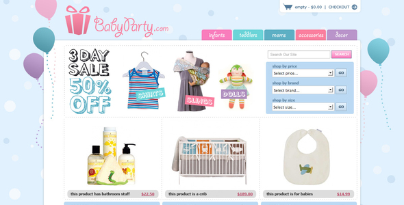 Clean Baby Clothes Websites