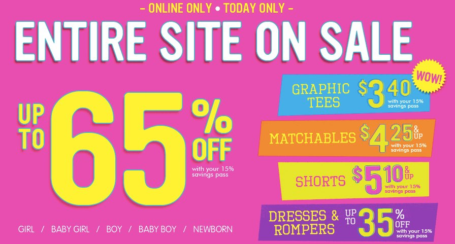 Clearance Baby Clothing Sale