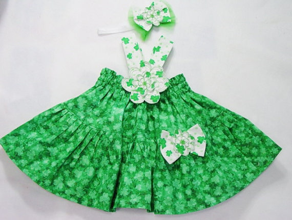 Bright Green Baby Girl Clothes Boutique