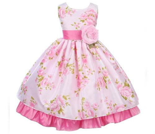 Flowered Clothes For Baby Girls