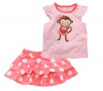 Monkey Cute Baby Clothes For Girls