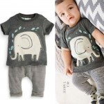 Elephant Infant Boy Clothes